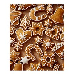 Christmas Cookies Bread Shower Curtain 60  X 72  (medium)  by AnjaniArt