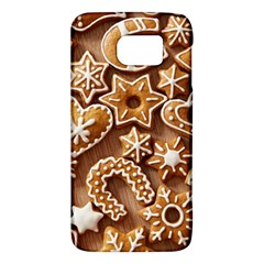 Christmas Cookies Bread Galaxy S6 by AnjaniArt