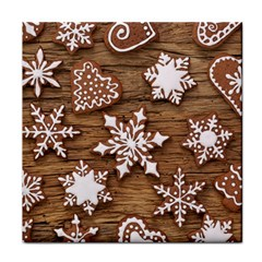 Christmas Cookies Tile Coasters