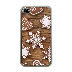 Christmas Cookies Apple Iphone 4 Case (clear) by AnjaniArt