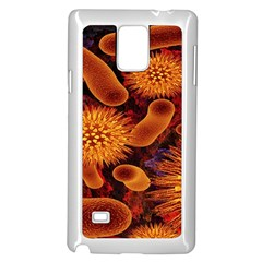 Chemical Biology Bacteria Bacterium Samsung Galaxy Note 4 Case (white) by AnjaniArt