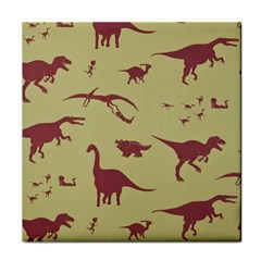 Dinosourus Tile Coasters