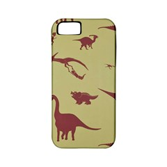 Dinosourus Apple Iphone 5 Classic Hardshell Case (pc+silicone) by AnjaniArt
