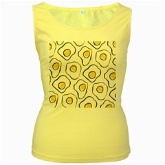 Ege Women s Yellow Tank Top by AnjaniArt