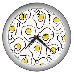 Ege Wall Clocks (silver)