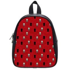 Cute Zombie Pattern School Bags (small)  by AnjaniArt