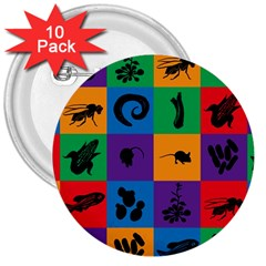 Elife 3  Buttons (10 Pack)