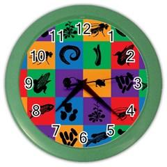 Elife Color Wall Clocks