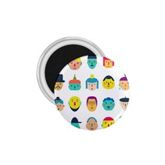 Face People Man Girl Male Female Young Old Kit 1 75  Magnets by AnjaniArt