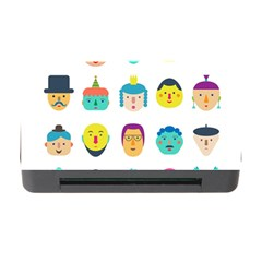 Face People Man Girl Male Female Young Old Kit Memory Card Reader With Cf by AnjaniArt