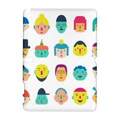 Face People Man Girl Male Female Young Old Kit Samsung Galaxy Note 10 1 (p600) Hardshell Case by AnjaniArt