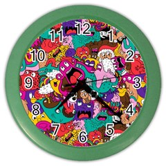 Face Color Wall Clocks