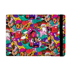 Face Ipad Mini 2 Flip Cases by AnjaniArt