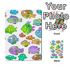 Fishes Col Fishing Fish Multi Purpose Cards (rectangle)