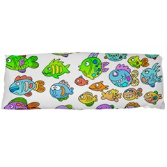 Fishes Col Fishing Fish Body Pillow Case Dakimakura (two Sides) by AnjaniArt