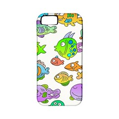 Fishes Col Fishing Fish Apple Iphone 5 Classic Hardshell Case (pc+silicone) by AnjaniArt