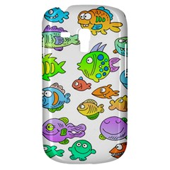Fishes Col Fishing Fish Samsung Galaxy S3 Mini I8190 Hardshell Case by AnjaniArt