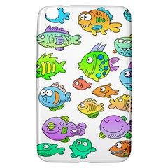 Fishes Col Fishing Fish Samsung Galaxy Tab 3 (8 ) T3100 Hardshell Case  by AnjaniArt