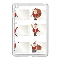 Images Natale Pinterest Christmas Clipart Reindeer Apple Ipad Mini Case (white) by AnjaniArt