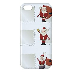 Images Natale Pinterest Christmas Clipart Reindeer Apple Iphone 5 Premium Hardshell Case by AnjaniArt