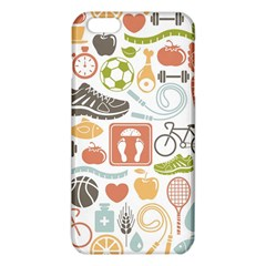 Health Habits Attitudes Hispanic Studied Sport Iphone 6 Plus/6s Plus Tpu Case by AnjaniArt