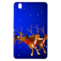Holidays Christmas Deer Santa Claus Horns Samsung Galaxy Tab Pro 8 4 Hardshell Case by AnjaniArt
