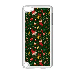 Hat Merry Christmast Apple iPod Touch 5 Case (White) by AnjaniArt