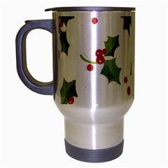 Images Paper Christmas On Pinterest Stuff And Snowflakes Travel Mug (silver Gray) by AnjaniArt