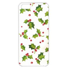 Images Paper Christmas On Pinterest Stuff And Snowflakes Apple Iphone 5 Seamless Case (white) by AnjaniArt