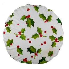 Images Paper Christmas On Pinterest Stuff And Snowflakes Large 18  Premium Flano Round Cushions by AnjaniArt