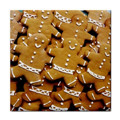 Gingerbread Men Tile Coasters