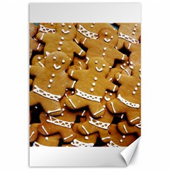 Gingerbread Men Canvas 12  X 18   by AnjaniArt