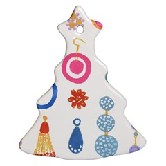 Interior Christmas Tree Ornament (2 Sides) by AnjaniArt
