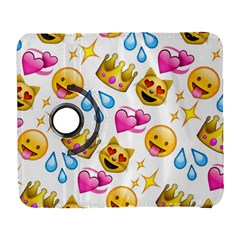 King Cat Smile Water Love Christmast Samsung Galaxy S  Iii Flip 360 Case by AnjaniArt
