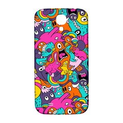Jumble Bunny Samsung Galaxy S4 I9500/i9505  Hardshell Back Case by AnjaniArt