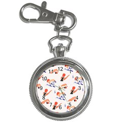 Olympics Swimming Sports Key Chain Watches by AnjaniArt