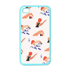 Olympics Swimming Sports Apple Iphone 4 Case (color) by AnjaniArt