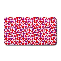 Love Pattern Wallpaper Medium Bar Mats by AnjaniArt