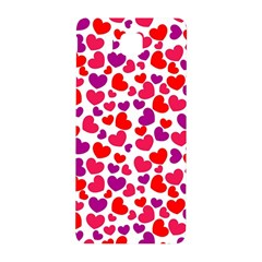 Love Pattern Wallpaper Samsung Galaxy Alpha Hardshell Back Case by AnjaniArt