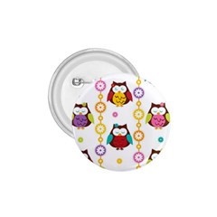 Owl 1 75  Buttons
