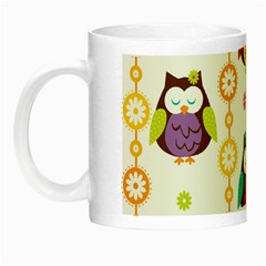 Owl Night Luminous Mugs
