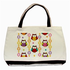 Owl Basic Tote Bag