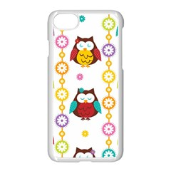 Owl Apple Iphone 7 Seamless Case (white)