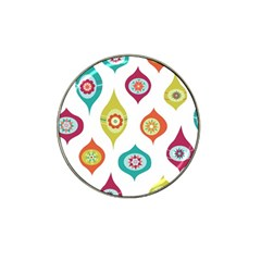 Ornaments Hat Clip Ball Marker (4 Pack) by AnjaniArt