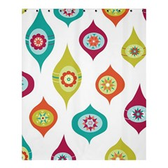 Ornaments Shower Curtain 60  X 72  (medium)  by AnjaniArt