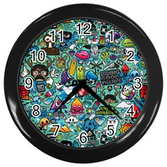 Monster Wall Clocks (black)