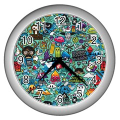 Monster Wall Clocks (silver)