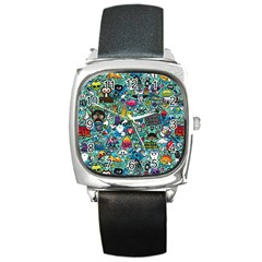 Monster Square Metal Watch