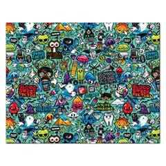 Monster Rectangular Jigsaw Puzzl