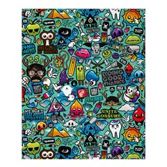 Monster Shower Curtain 60  X 72  (medium)
